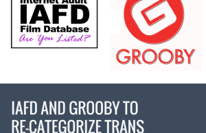 IAFD and Grooby to Re-Categorize Trans Performers on IAFD.com