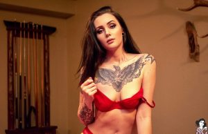 The American Nixy is one of the new models of the Suicide Girls