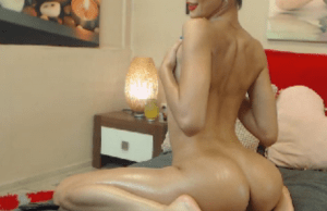 AveryMia Lubes Up For A Self Love Session