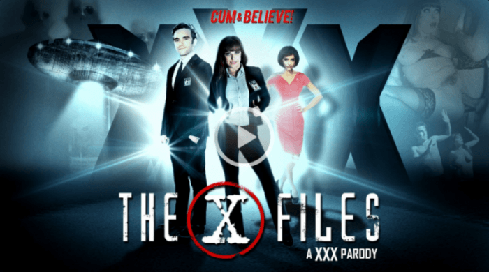 Digital Playground Presents The X-Files: A XXX Parody Movie.