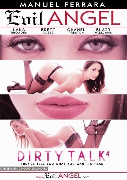 Dirty Talk 4, Porn DVD, Evil Angel, Manuel Ferrara, Blair Williams, Brett Rossi, Chanel Preston, Lana Rhoades, Manuel Ferrara, Anal, Ass to mouth, Big Dick, Big Tits, Blonde, Blowjob, Brunette, Bubble Butt, College, Cumshot, Dirty-talk-4-2016-full-free-hd-xxx-dvd