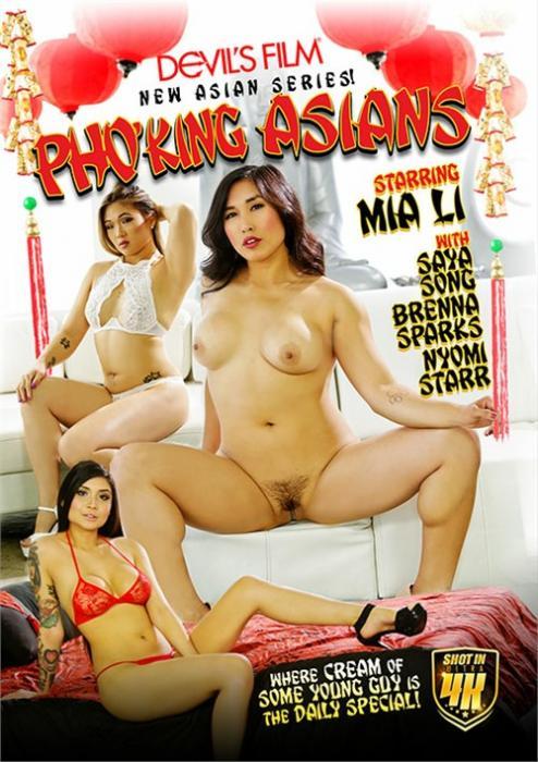 Pho'king Asians XXX DVD from Devil's Film