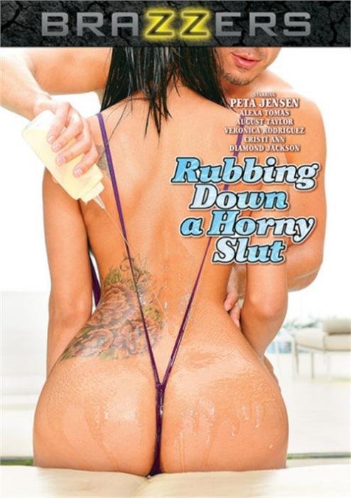 Rubbing Down A Horny Slut XXX DVD from Brazzers