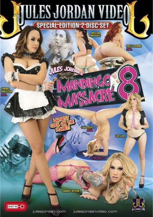 Mandingo Massacre 8 Porn DVD from Jules Jordan Video