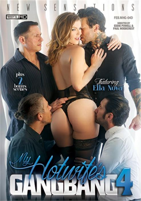 My Hotwife's Gangbang 4 Porn DVD from New Sensations