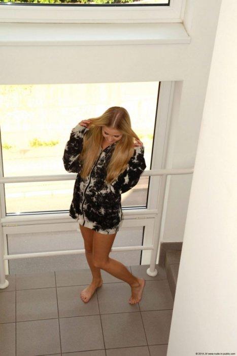 Cayla Lyons – Walk in the suburbs