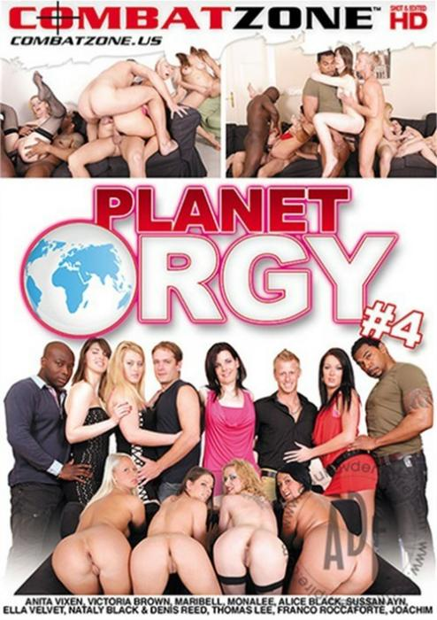 Planet Orgy 4 XXX DVD from Combat Zone