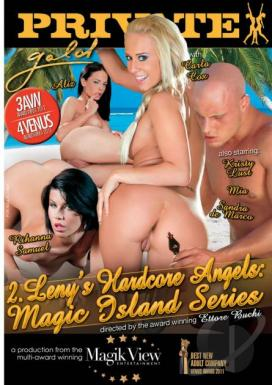 Private Gold 132: Magic Island Series 2: Leny's Hardcore Angels